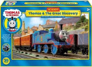 Thomas & The Great Discovery Set by Hornby trians oo