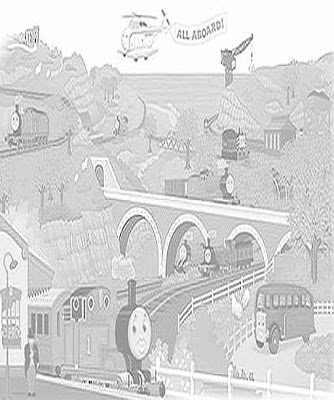 The Island of Sodor coloring pages online free to print out for your kids