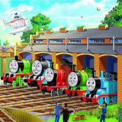 Thomas the tank activities jigsaw puzzles