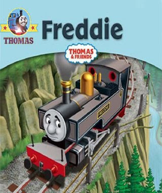 Train Freddie engine and Fearless Freddie Engine friends