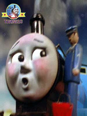 The tank engine Edward exploit day and his fireman traveled in front dropping sand on the rails