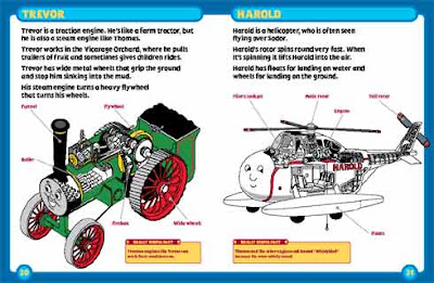 Overhaul elements show in this hardback are Train Thomas n friend Harold helicopter diagram cutaways