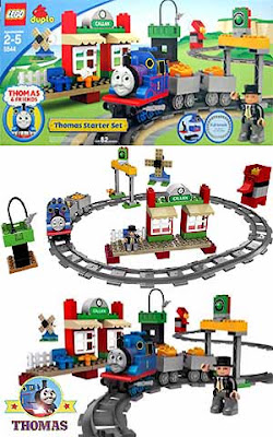 Bricks basic building LEGO Duplo Thomas tank engine toys starter set 5544 safe vivid robust pieces