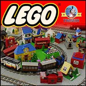 Kids Toy Train Duplo Thomas Lego Bricks Basic Building