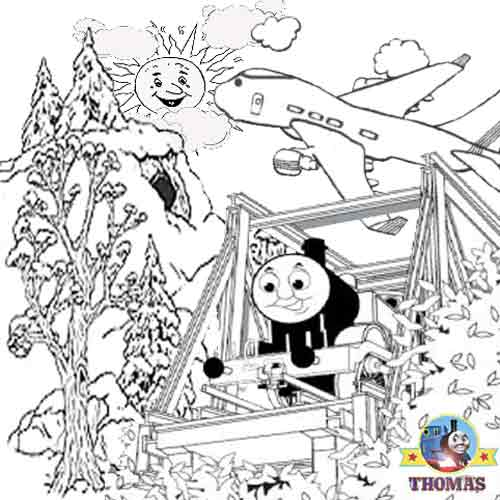 Thomas Coloring Pages Print Out