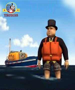2010 DVD Thomas and friends Misty Island Rescue with the fat controller at sea on captain lifeboat
