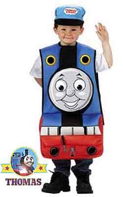 3D Train Thomas tank engine Halloween costume for kids Trick or Treat fancy dress outfit for a party