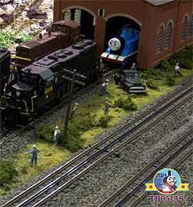 HO Bachmann and Hornby Thomas the tank engine and friends Thomas ultimate train set great exhibition
