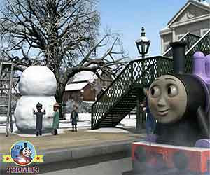 Sodor Thomas and friends Rosie the train steam locomotive railway engines the childrens iceman party