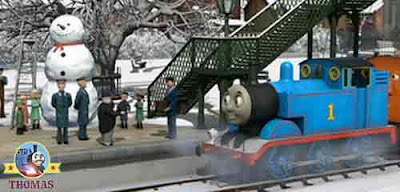 Sir Topham Hatt opened a important package inside a top hat tremendous Thomas the tank engine train
