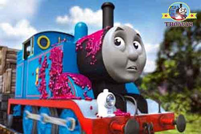 Thomas tank engine friends video DVD Hero of the rails for children from Nitrogen Studios Canada BC