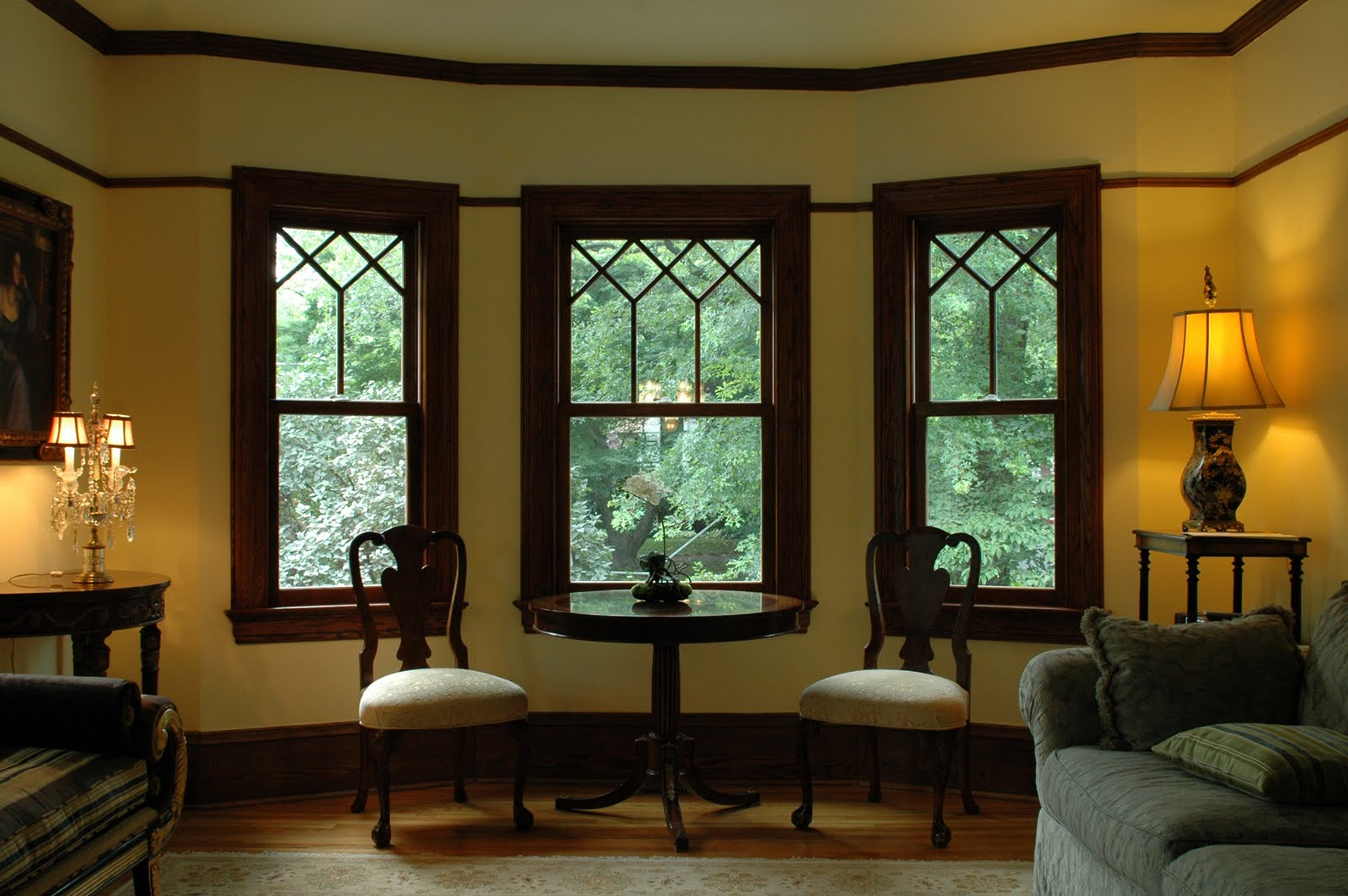 Clawson architects llc insulation and window replacement for Bay window interior