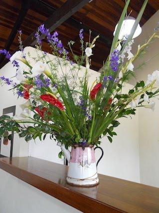 arranjo de flores da HELENA CARVALHOSA!