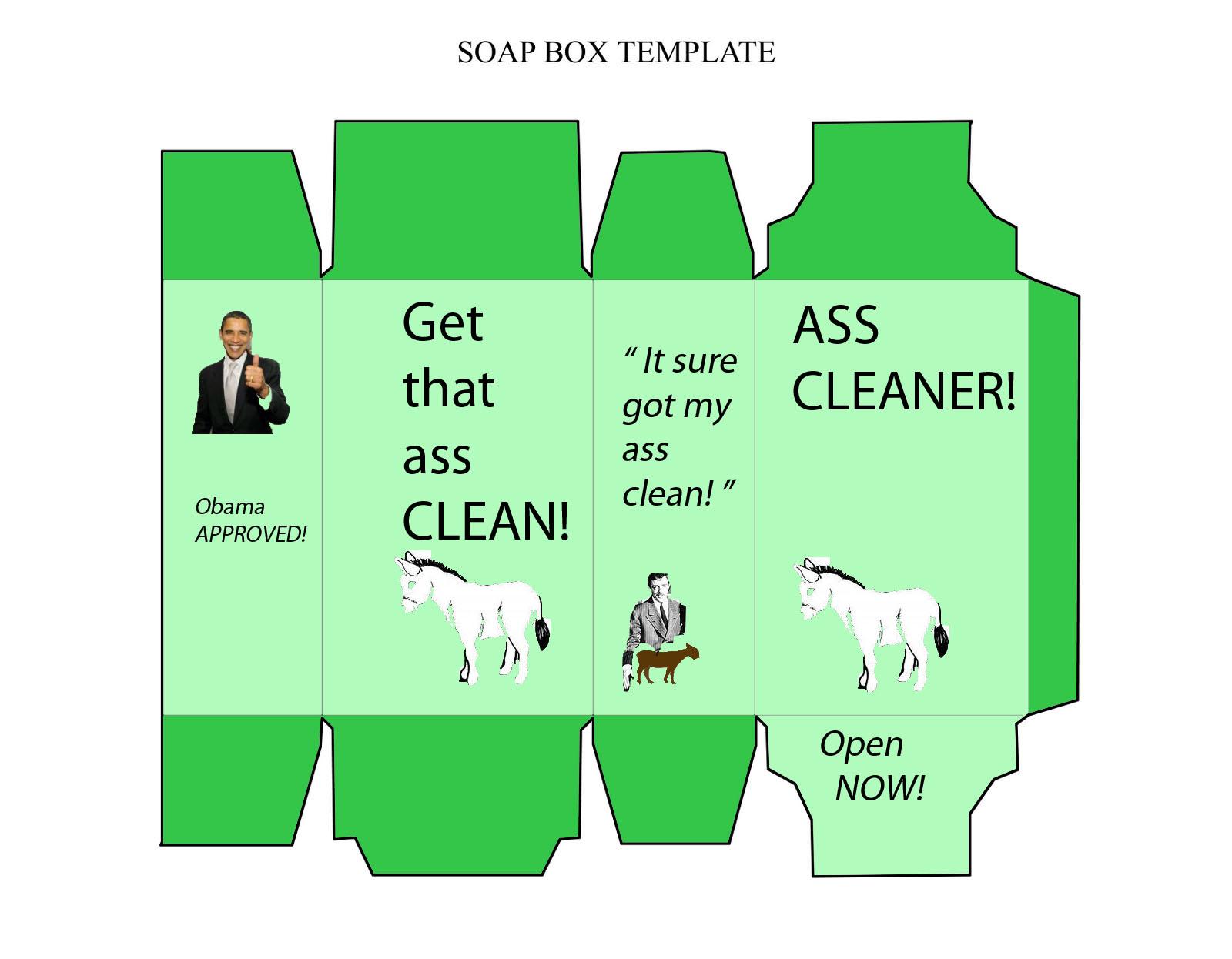 Soap box template car interior design for Soap box design template