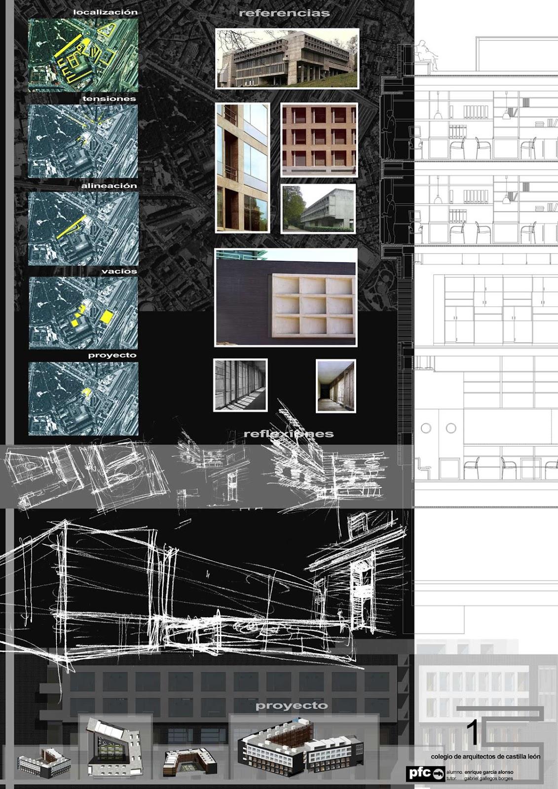 Proyectos de fin de carrera de arquitectura infograf a y dise o 3a estudio - Colegio arquitectos bilbao ...