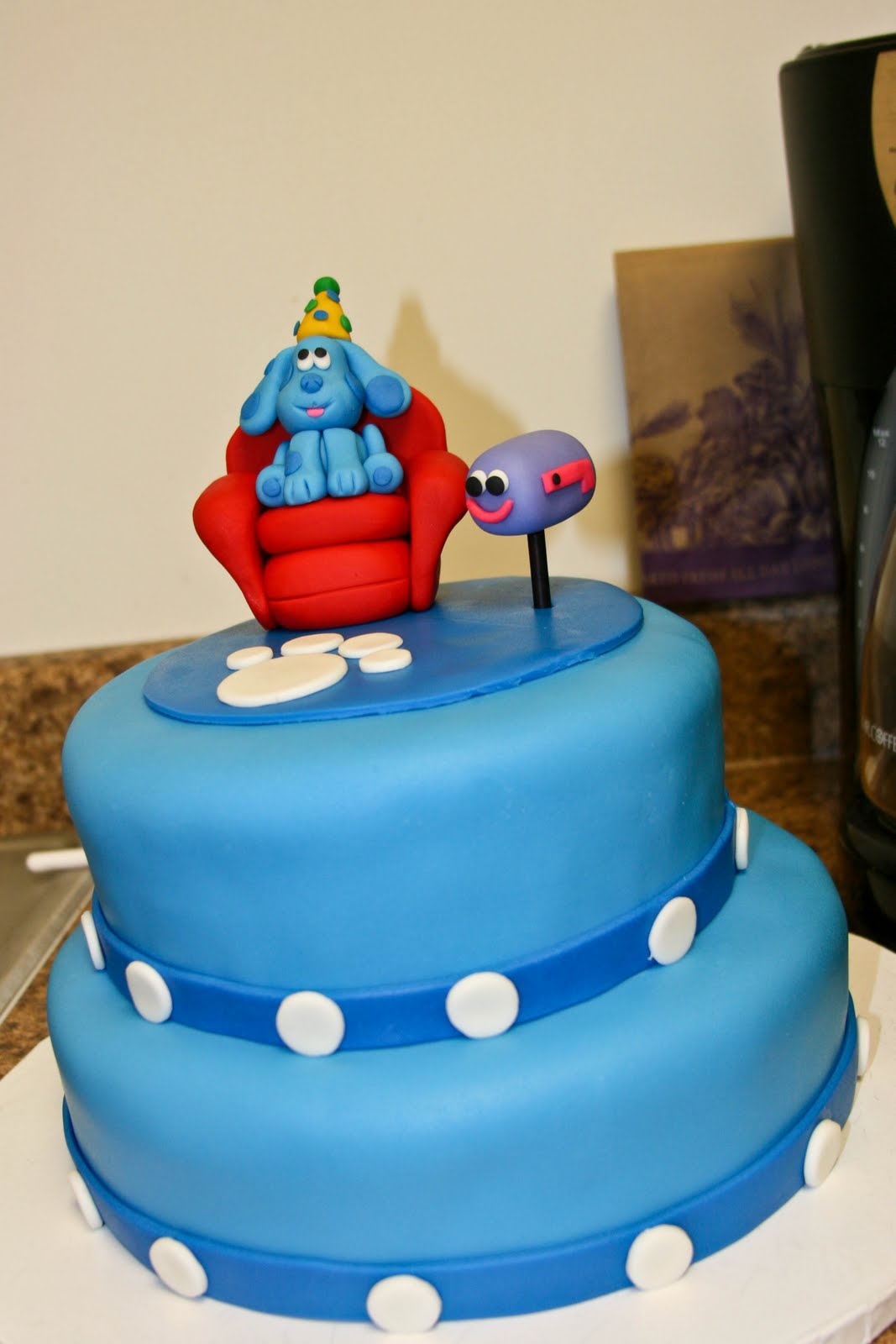 birthday cake blues clues image inspiration of cake and birthday