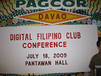Digital Filipino Club 2009 Event in Davao City