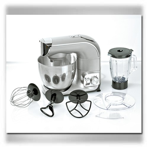 Arteycocina quigg robot de cocina batidora amasadora for Robot cocina lidl opiniones