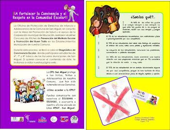 Diagnostico de Convivencia Escolar en Establecimientos Municipales de San Miguel