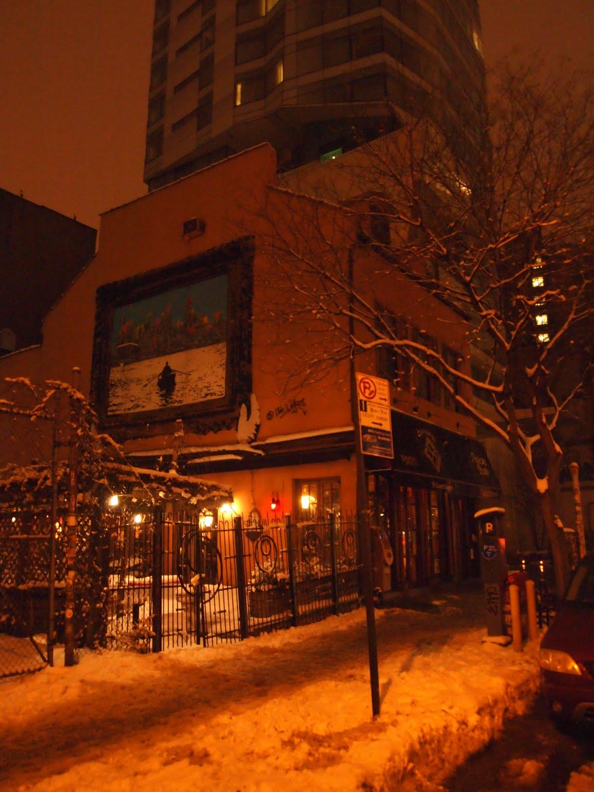 Asian pub cooper square