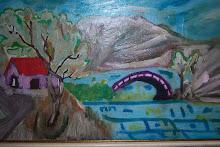 1967 Este cuadro lo pinté con 7 añitos