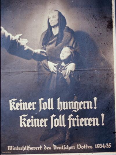 propagande allemande Nazi_poster_nazi_charity