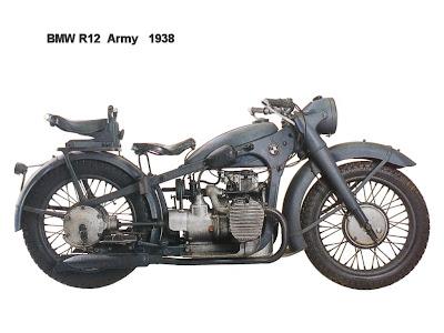BMW R12, Sepeda Motor Nazi Jerman Paling Terkenal