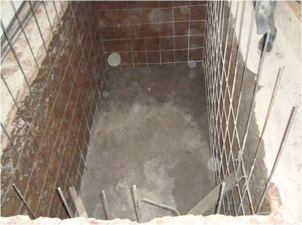 Materiales y procedimientos de construcci n cisternas for Estanque de agua 10000 litros precio