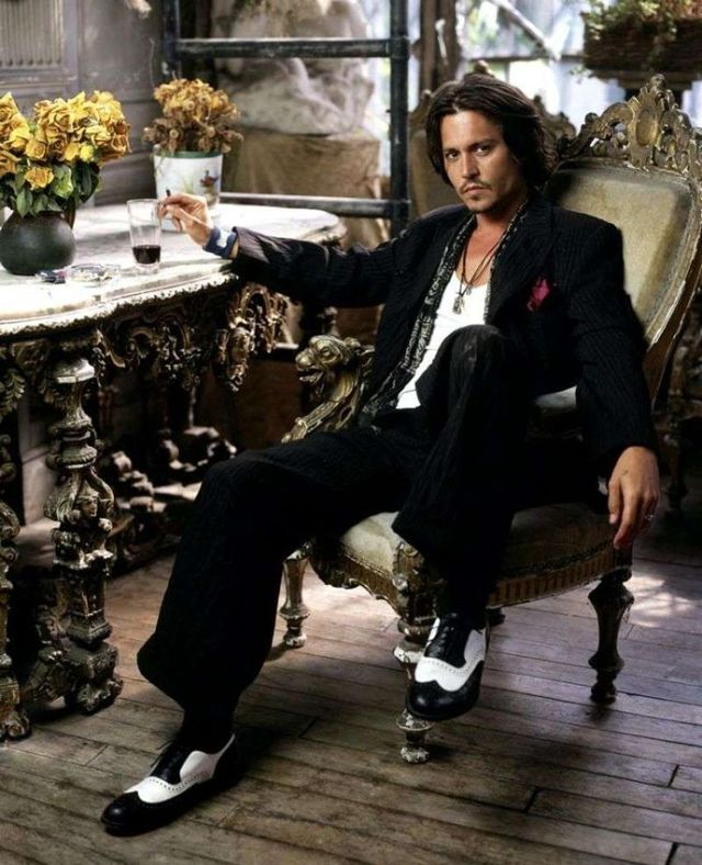 johnny depp style. Grungy Johnny Depp Style !