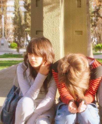 extraño esos momentos :( amartee novia mi ♥