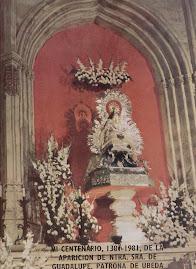 Imagen de la Virgen del Gavellar; Patrona de Úbeda en Santa María.