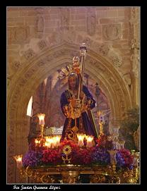 """Nuestro Padre Jesús Nazareno """"El Paso""""; Delante la Capilla del Canónigo Becerra en Santa María"""