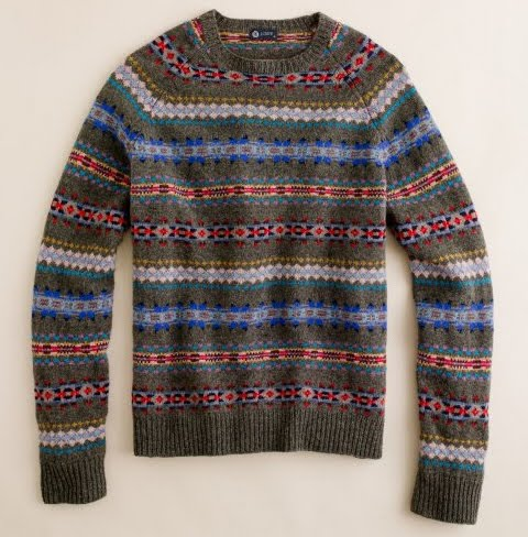 Alex Grant: J.Crew Fair Isle Sweater