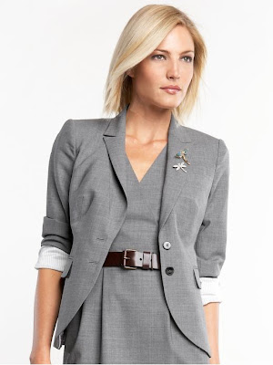 Tall lightweight wool blazer