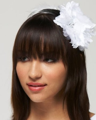 Flower Feather Headband