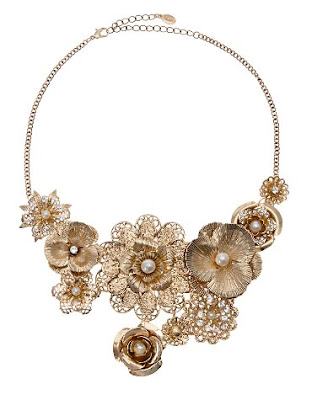 ERMITANIO floral necklace