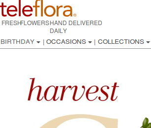 Teleflora Coupons and Deals
