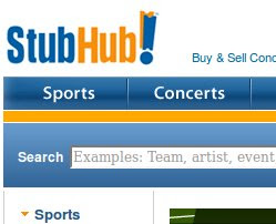 Stubhub Coupons and Deals