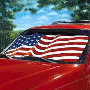 Flag Auto Sunshade