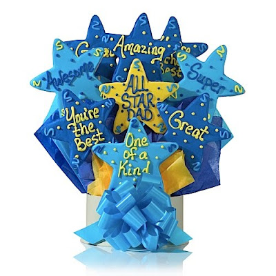All Star Dad Cookie Bouquet