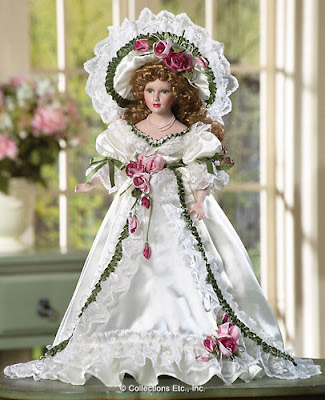 Ribbons and Roses Collectible Doll