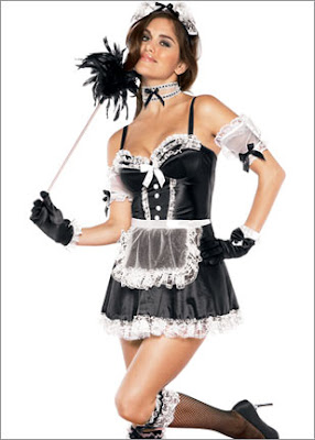 Sexy French Maid Halloween costume