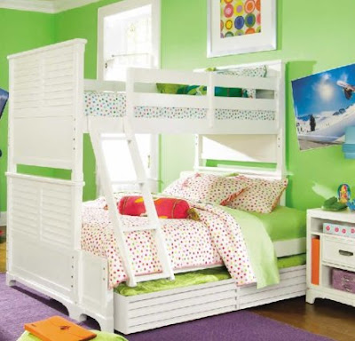 Lea Freetime Wood Bunk Bed