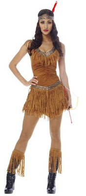sexy native american indian costume