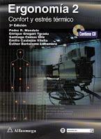 Libro, Ergonomía  2,Confort,Estres, Termico,Pedro Mondelo,Descarga gratis