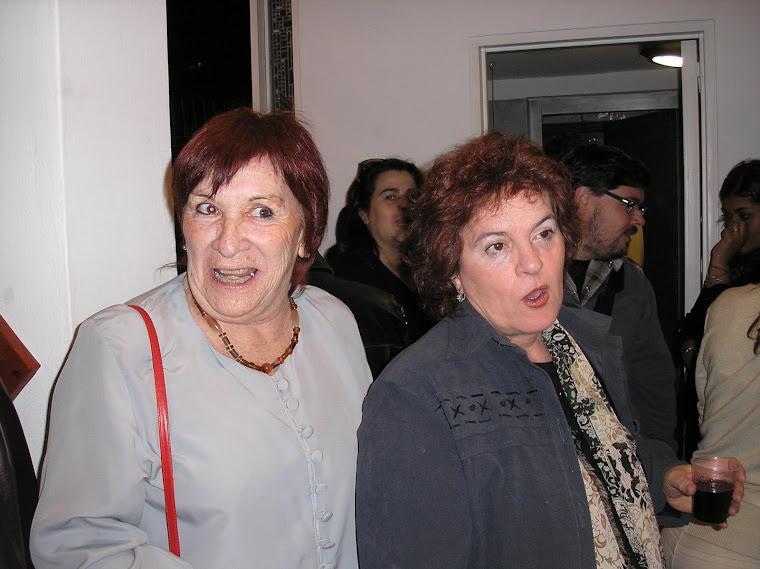Armina Ulloa y Susana Echeveste y los gestos para una incognita