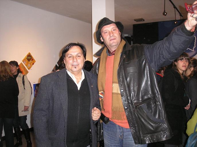 Cali Esquivel y Oscar Vega