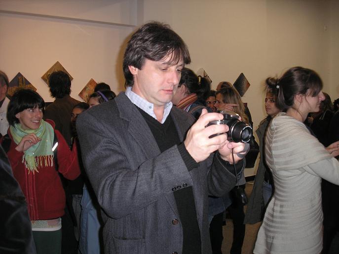 Aldo Casali devenido en fotögrafo
