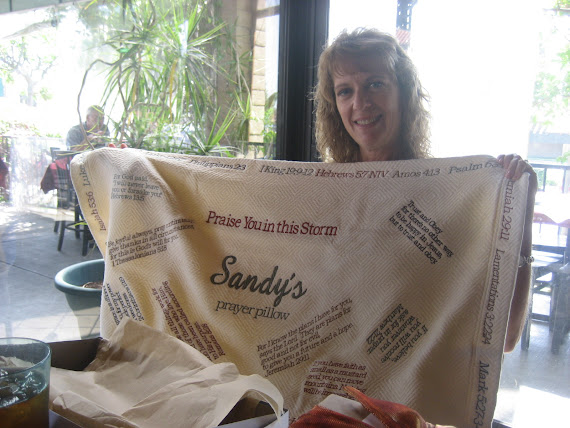 Sandy's Prayer Pillow