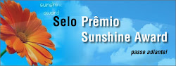 selo Prêmio Sunshine Award
